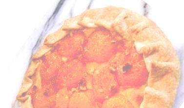 Rustic Apricot & Almond Tart
