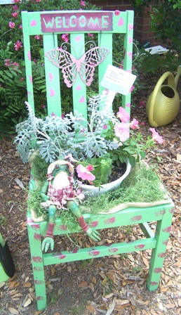 Whimsical garden chair