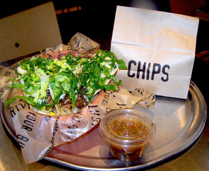 Chipotle's Tacos and Chips