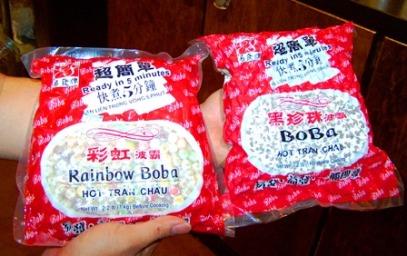 Dry boba