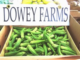 Farm Fresh Okra from Sandhill Market