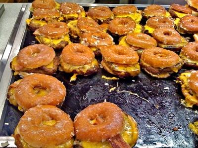 Krispy Kreme Cheeseburgers