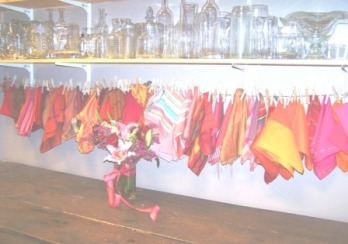 Prop room-colorful napkins