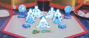 Porcelain Hina Dolls