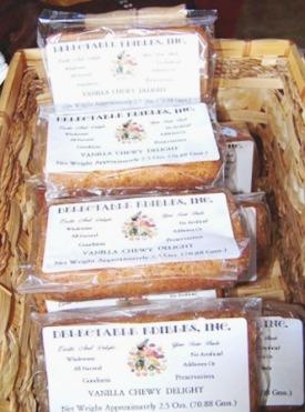 Vanilla Chewy Delight Cakes