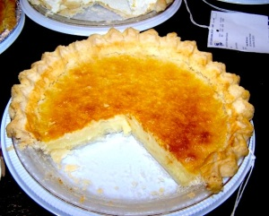 sc fair  egg custard pie